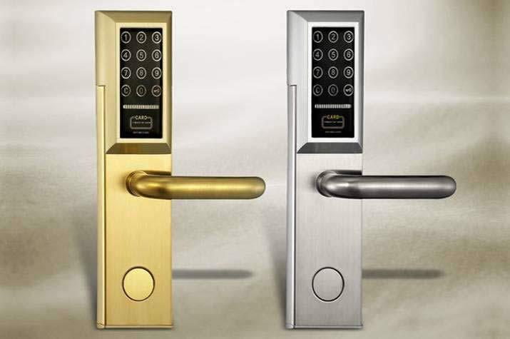 密码及指纹锁锁